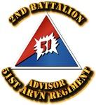 ARVN - 2BN - 51st Regiment - Advisor