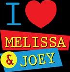I love Melissa and Joey