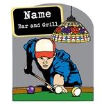 Personalized Mens Billiards