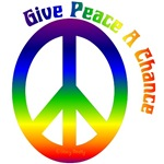 Give Peace a Chance Peace Sign