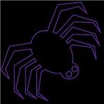 Purple Halloween Spider