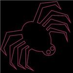Pink Spider Halloween