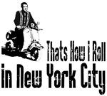 Vespa Scooter New York City