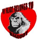 MY HEART BELONGS TO BIGFOOT