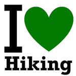 I <3 Hiking Green