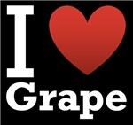 I Love Grape Dark
