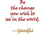 Gandhi on Change