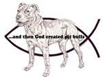 God created pit bulls