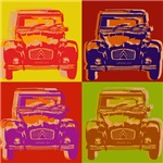Car Pop Art