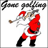 Santa's Gone Golfing