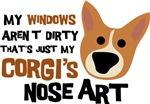 Corgi Nose Art