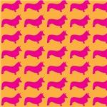 Retro Corgi Pattern