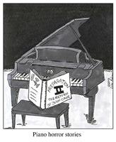 Piano Horror Stories
