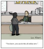 Online Bank Robbery
