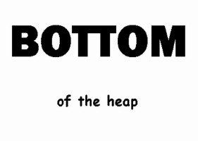BOTTOM of the heap