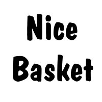 Nice basket