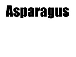 Asparagus (uncut)