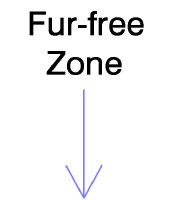 Fur-free zone