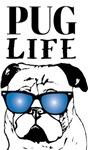 Pug Life with Glasses