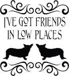 Friends In Low Cardigan