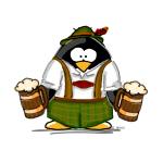 Oktoberfest Boy Penguin
