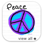 Peace , Love and Happiness Gifts & Apparel