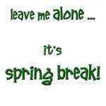 Spring break request