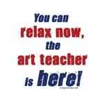 Relax, art teacher here