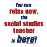 Relax, social studies teacher here