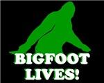 BIGFOOT T-SHIRT BIGFOOT LIVES T-SHIRT SASQUATCH SH
