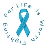 LightBlue Ribbon - Hope