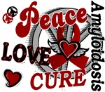 Peace Love Cure 2 Amyloidosis Merchandise