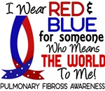 Means World to Me 1 Pulmonary Fibrosis T-Shirts