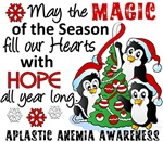 Christmas Penguins Aplastic Anemia Gifts