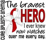 Bravest Hero I Knew Aplastic Anemia T-Shirts