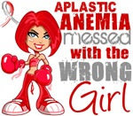 Messed With Wrong Girl Aplastic Anemia Tees