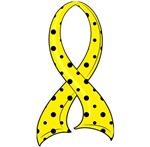 Polka Dot Ribbon Spina Bifida Gifts