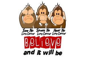 See Speak Hear No Lung Cancer 3
