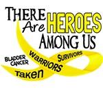 Heroes Among Us BLADDER CANCER Shirts & Tees