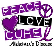 PEACE LOVE CURE Alzheimers