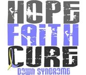 HOPE FAITH CURE Down Syndrome
