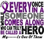 Hero Comes Along 1 Pancreatic Cancer Shirts