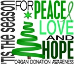 Christmas 1 Organ Donation Cards Ornaments Gifts