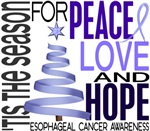 Christmas 1 Esophageal Cancer Cards Ornaments Gift