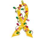 Christmas Lights Ribbon Childhood Cancer Gifts