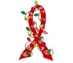 Christmas Lights Ribbon Heart Disease Gifts