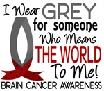 Means World To Me 1 Brain Cancer Shirts