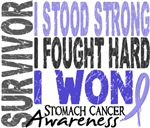 Survivor 4 Stomach Cancer Shirts and Gifts
