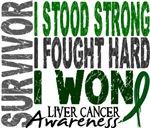 Survivor 4 Liver Cancer Shirts and Gifts
