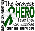 Bravest Hero I Knew Liver Cancer Gifts